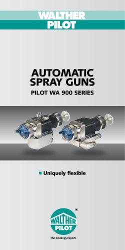 Automatic Spray Guns PILOT WA 900