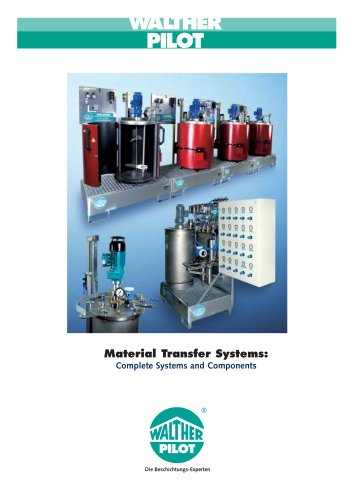 Material Transfer Systems - Complete Systems and Components