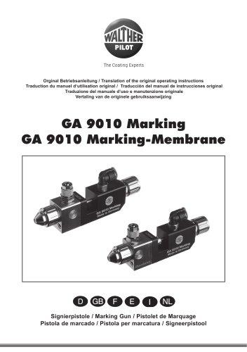 PILOT GA 9010 Marking