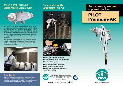 PILOT Premium AR for ceramics, enamel, slip and the like