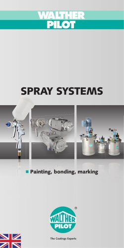 Spray Systems painting, bonding, marking