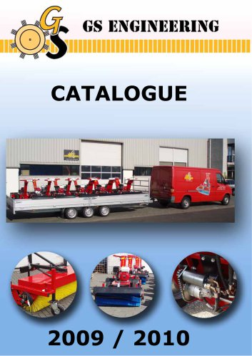 Complete catalogue GS machines