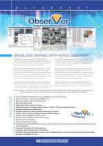 NetVu ObserVer Datasheet