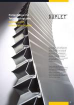 DUPLET Bellows with telescopic sheets
