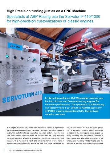 Servoturn® 410/1000