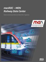 menRDC - MEN Railway Data Center