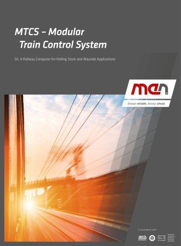 MTCS – Modular Train Control System