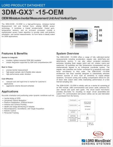3DM-GX3® -15-OEM