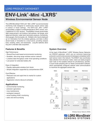 ENV-Link -Mini -LXRS®