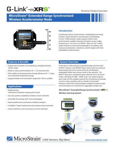 G-Link® -mXRS? Wireless Accelerometer Node