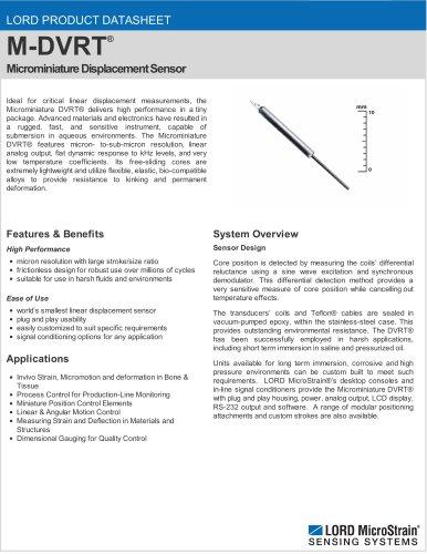 Microminiature DVRT®
