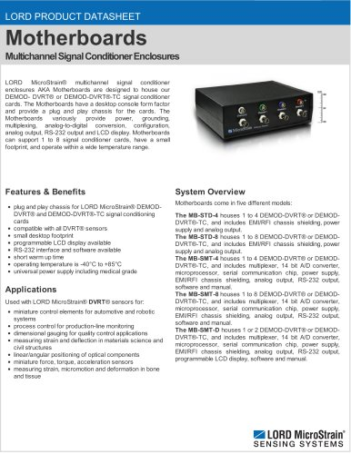 Motherboards, Enclosures and Power Supplies
