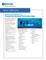 Moyno 1000 Pumps Bulletin