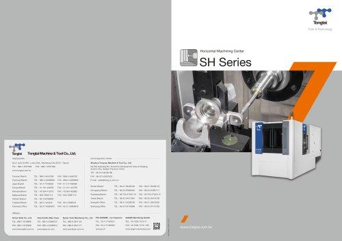 3-AXIS CNC MACHINING CENTER / HORIZONTAL / CUTTING
