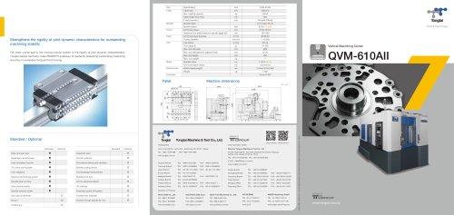 3-AXIS CNC MACHINING CENTER / VERTICAL / COLUMN TYPE/QVM-610AII