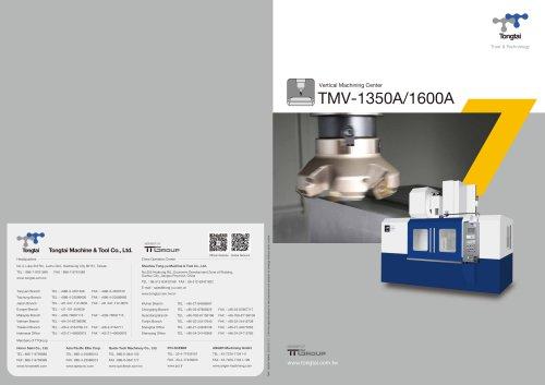 3-AXIS CNC MACHINING CENTER / VERTICAL / CUTTING/TMV-1350A