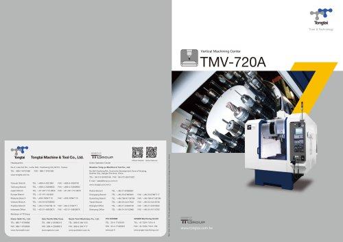 3-AXIS CNC MACHINING CENTER / VERTICAL / HIGH-PRECISION / CUTTING/TMV-720A