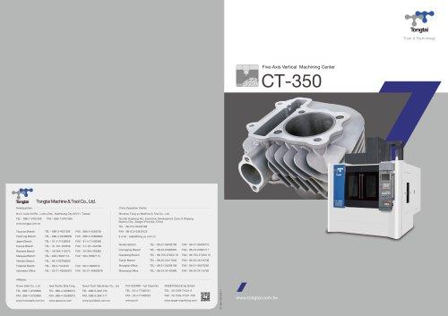 5-AXIS CNC MACHINING CENTER / VERTICAL / HIGH-PRECISION/CT-350