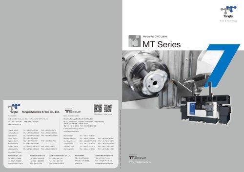 CNC LATHE / 3-AXIS/MT Series