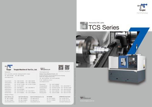 Cnc Lathe Ttgroup Pdf Catalogs Technical Documentation