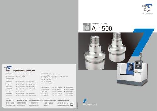 CNC LATHE / COMPACT/A-1500