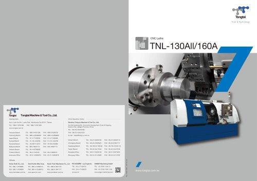 CNC LATHE / CUTTING / POWERFUL/TNL-130ALII/160A