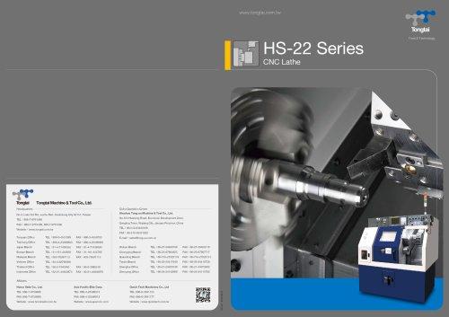 CNC LATHE / MILLING/HS-22[M]