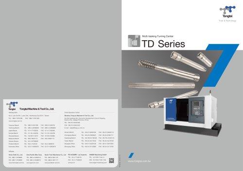 CNC TURNING CENTER / MILLING/TD Series