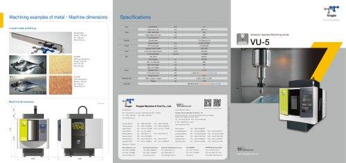 Ultrasonic Assisted Machining Center/VU-5