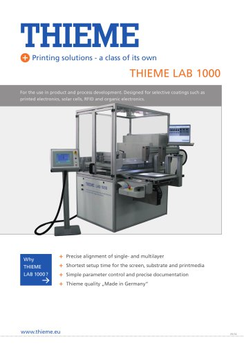 THIEME LAB 1000