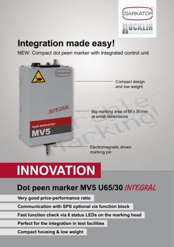 Markator Integral Compact Integration Unit