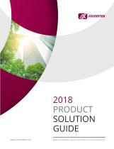 2018 Product Solution Guide