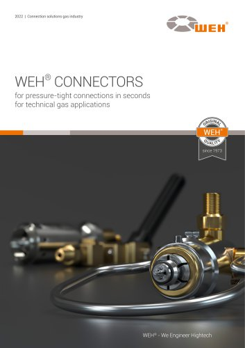 WEH® Connection solutions for the gas industry