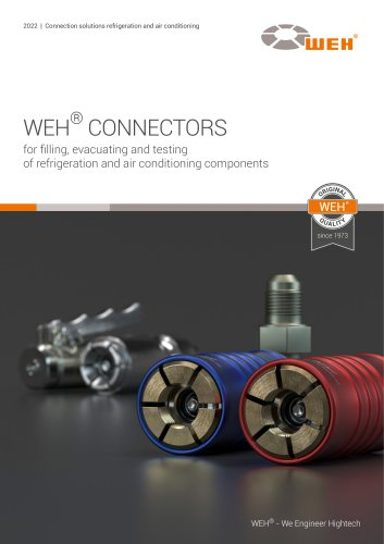 WEH® Connectors for Refrigeration and air conditioning