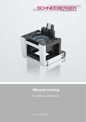 Mineral casting