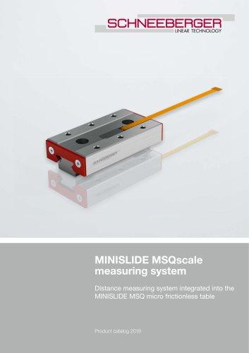 MINISLIDE MSQscale - Product catalog