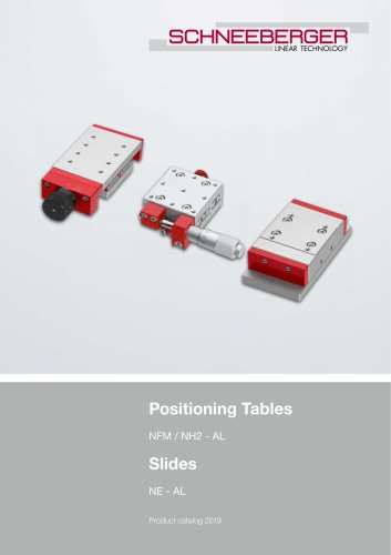 Positioning systems / Slides