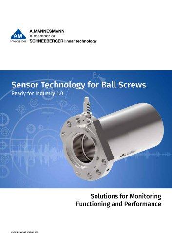 Sensor Technology for Ball Screws