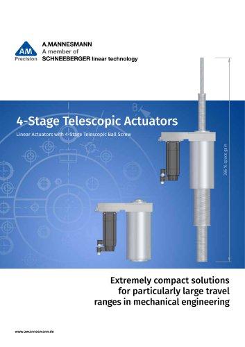 Stage Telescopic Actuators