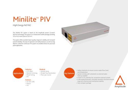 Minilite PIV