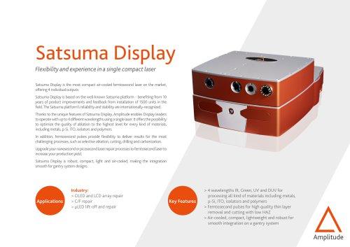 Satsuma Display