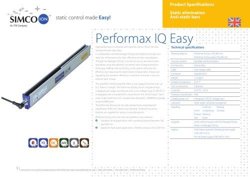 Performax IQ Easy