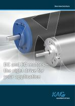 Overview: DC and EC Drives