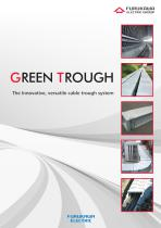 GREEN TROUGH - The Innovative, versatile cable trough system