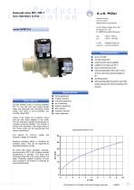29.007.215 Solenoid valve NC, DN 7 two chambers in line - 1