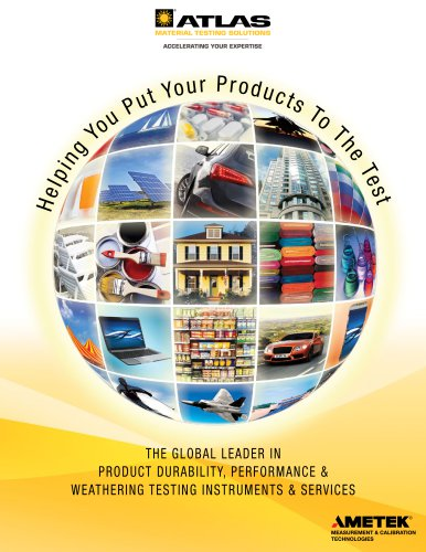 Products and Services Mini Catalog