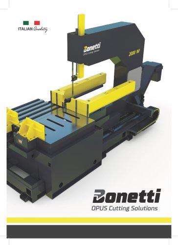 Bonetti Steel Bandsaws - Heavy Duty
