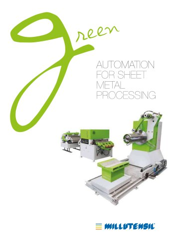 Automation for sheet metal processing