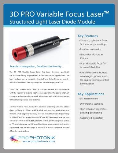 3D Pro Variable Focus Laser