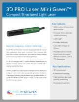 Green 3D PRO Laser Mini